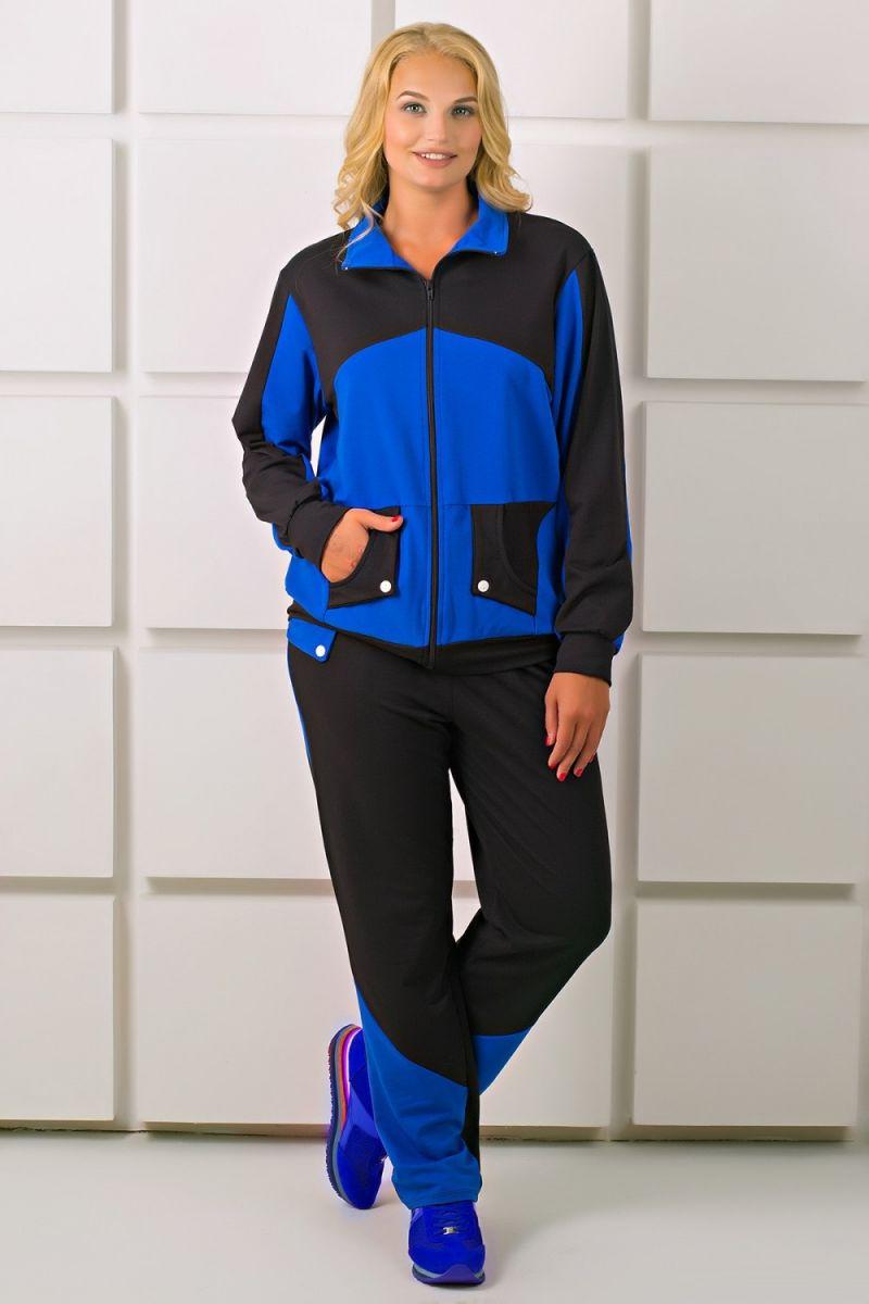 00-285Спортивный костюм Бонита (электрик) - Victorya-Shop.com