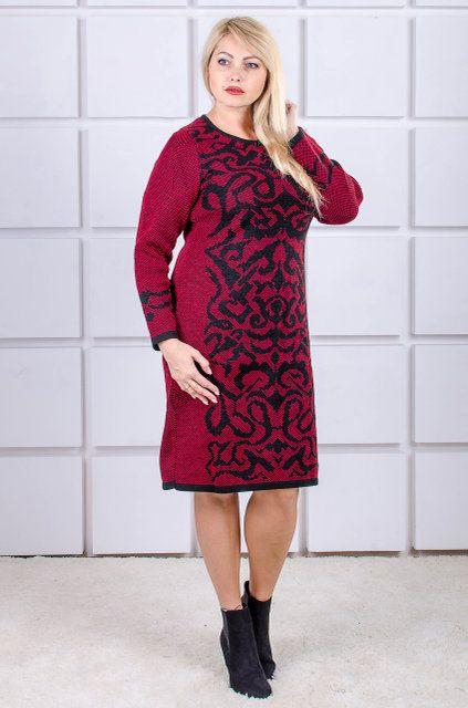 00-416 Gerda красный/черный - Victorya-Shop.com