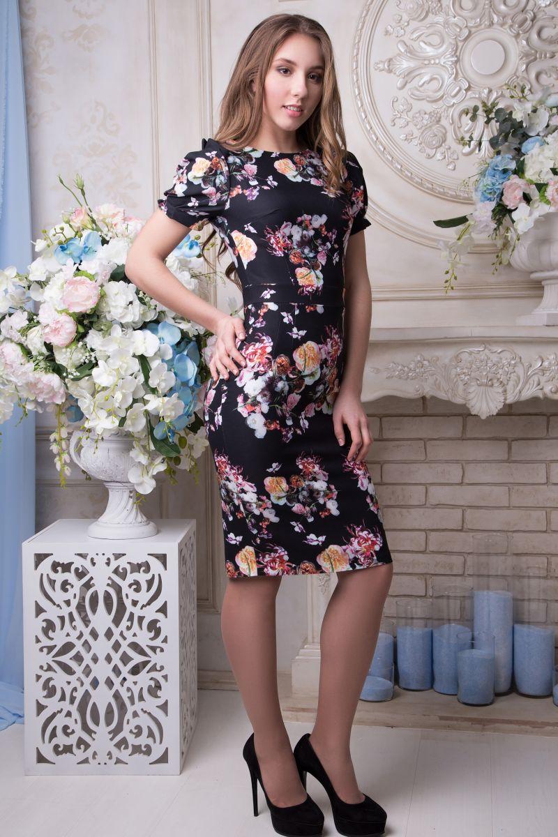012300 Платье Маренго - Victorya-Shop.com