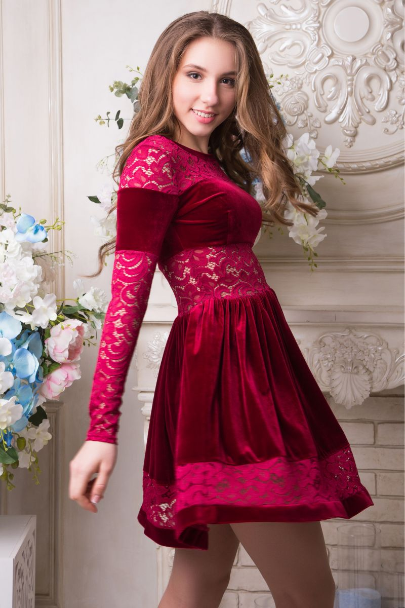 01295 Платье Грейс - Victorya-Shop.com