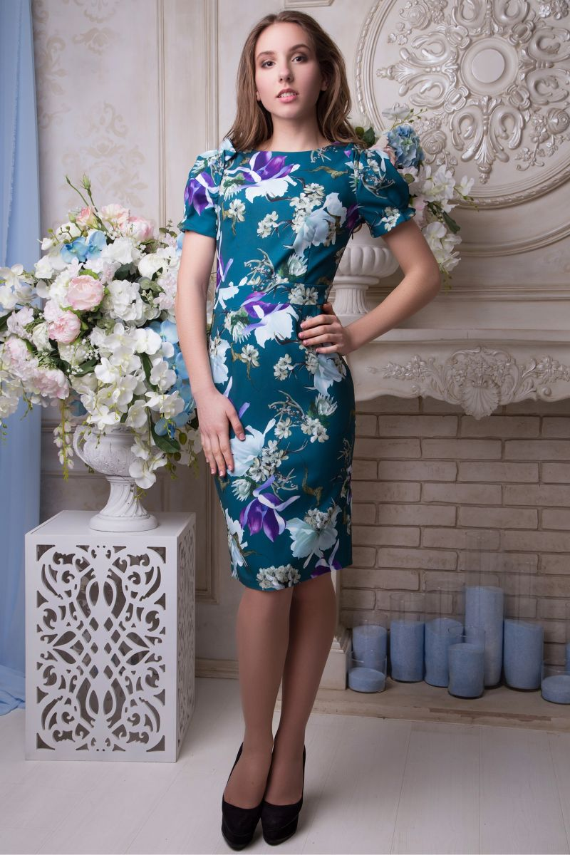 01299 Платье Маренго - Victorya-Shop.com