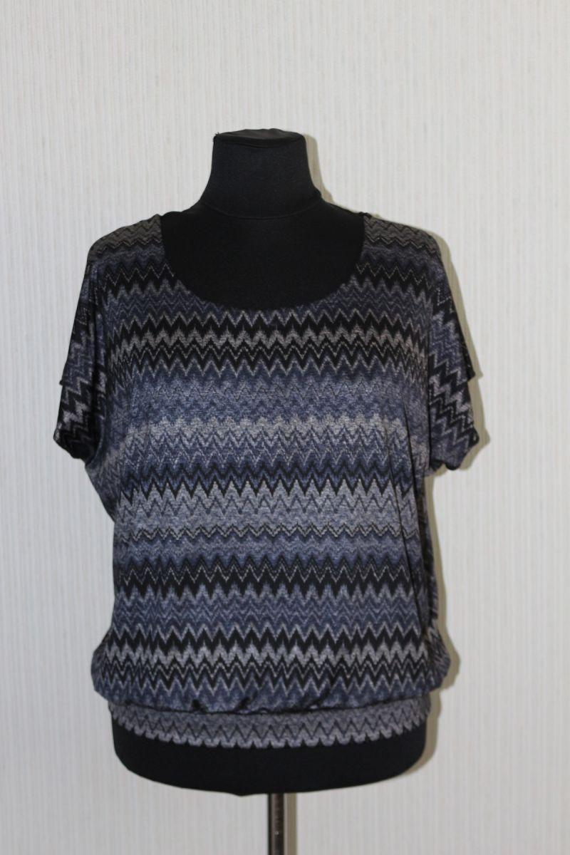 Блуза большого размера ЛИКА  00-133546 - Victorya-Shop.com