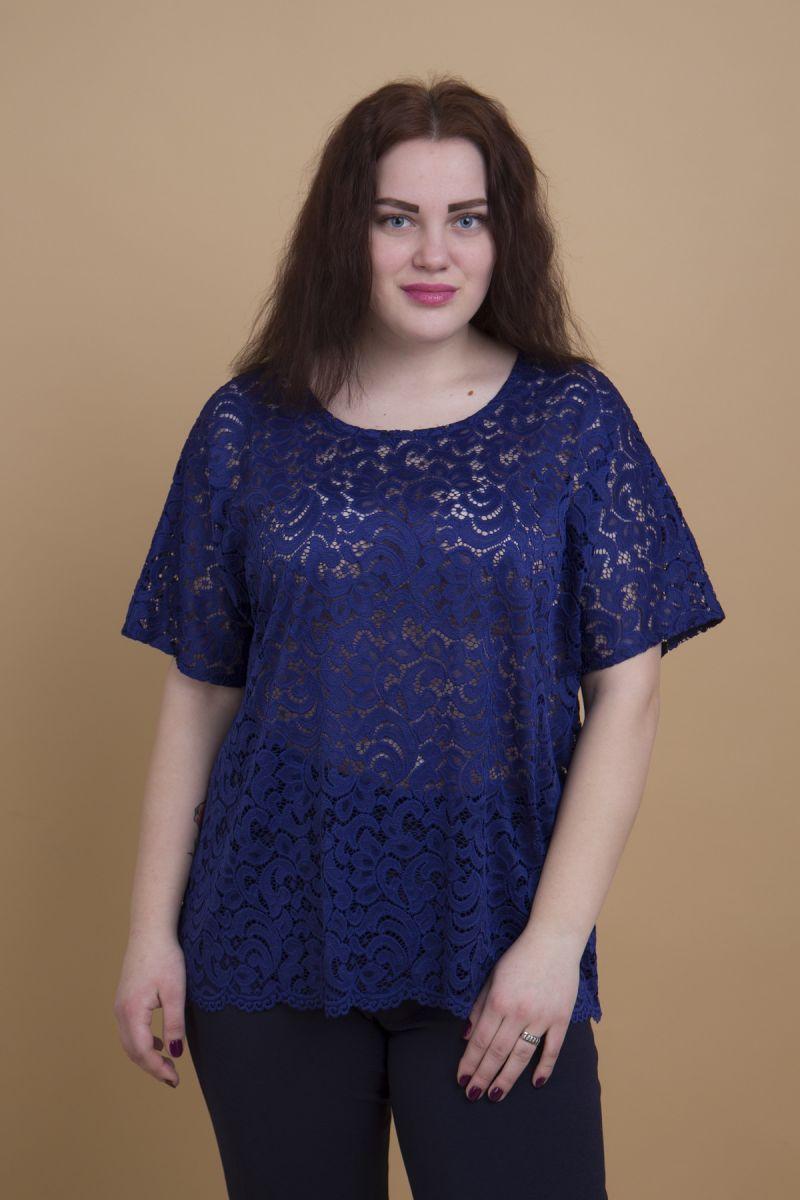 Блуза французский стрейч-гипюр доступна в цвете  00-13334 - Victorya-Shop.com