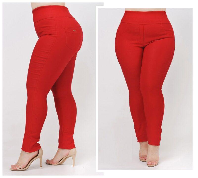 Брюки женские большого размера коттон люкс стреи?чевыи? 000-572 - Victorya-Shop.com