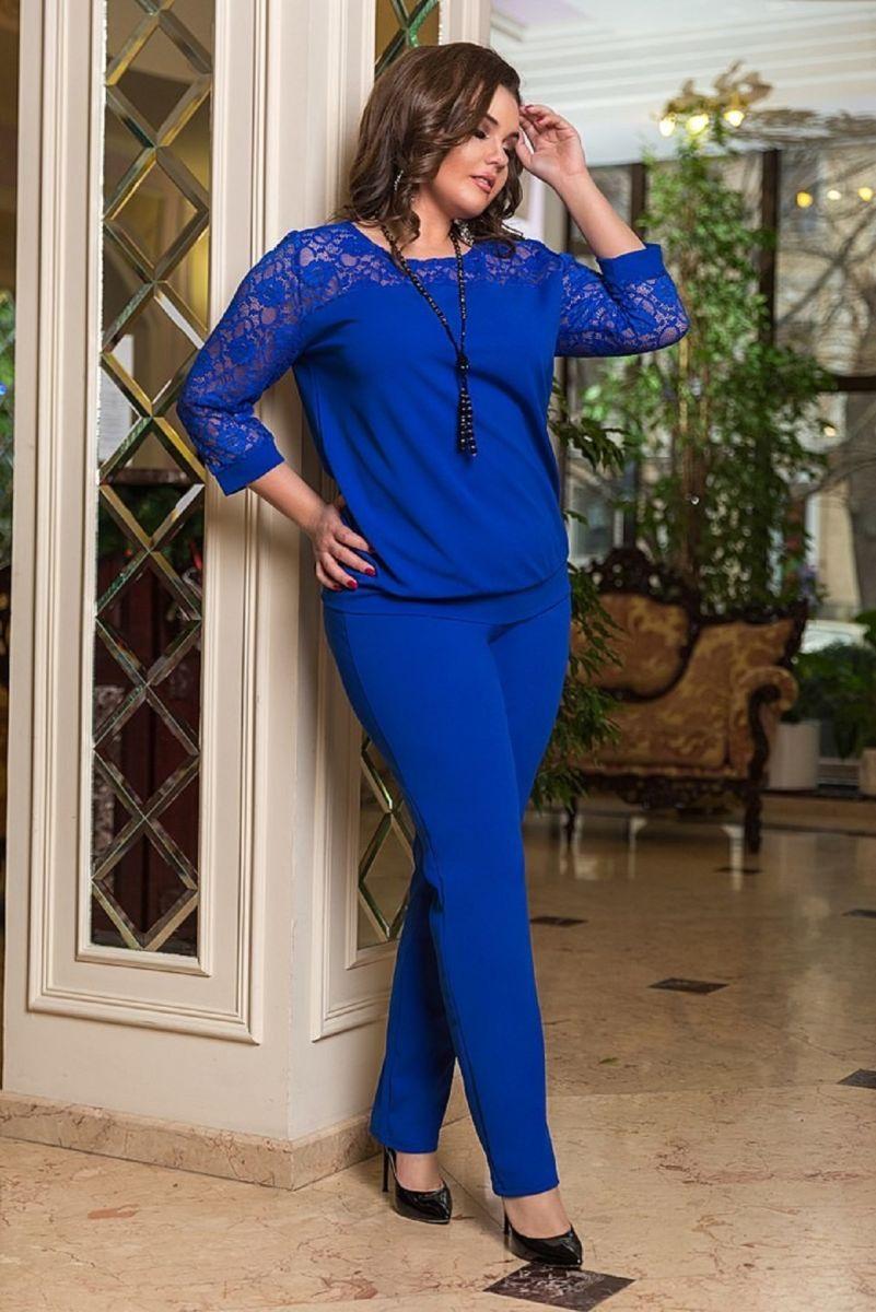 Брючный женский костюм  Сабина  00-133660 - Victorya-Shop.com