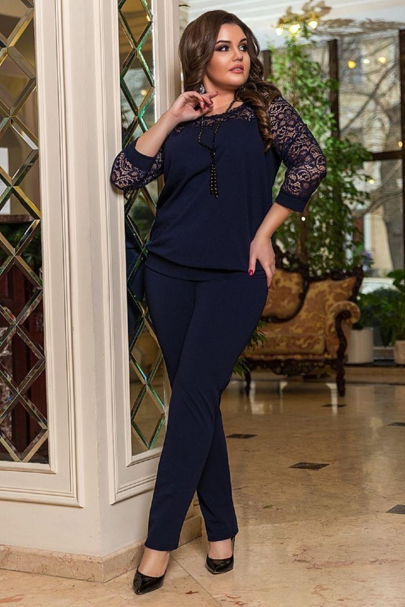 Брючный женский костюм  Сабина  00-133661 - Victorya-Shop.com