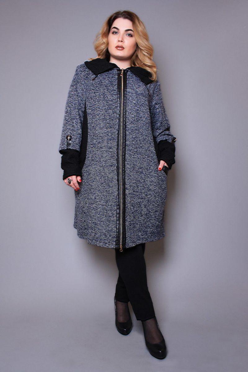 Демисезонное пальто 00-876 - Victorya-Shop.com