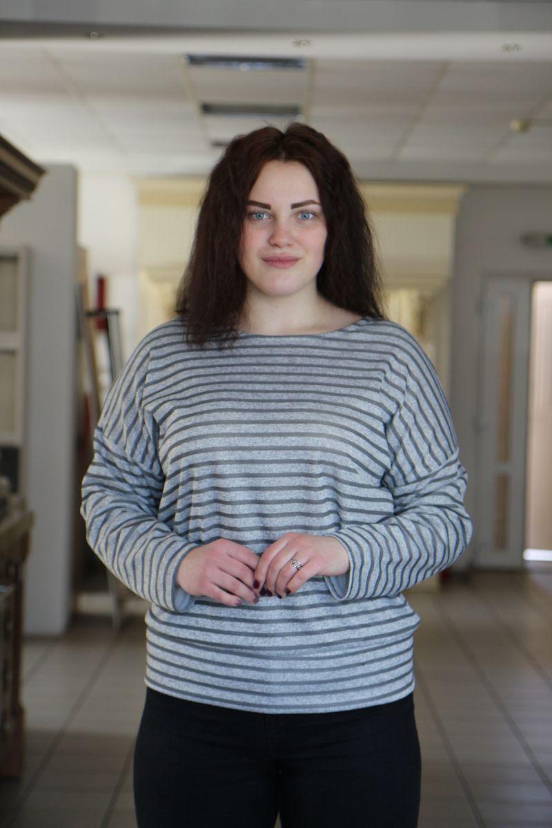Джемпер большого размера Наталка 000-500 - Victorya-Shop.com