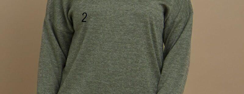 Джемпер для полных трикотаж люрикс доступен в цвете 000-669 - Victorya-Shop.com