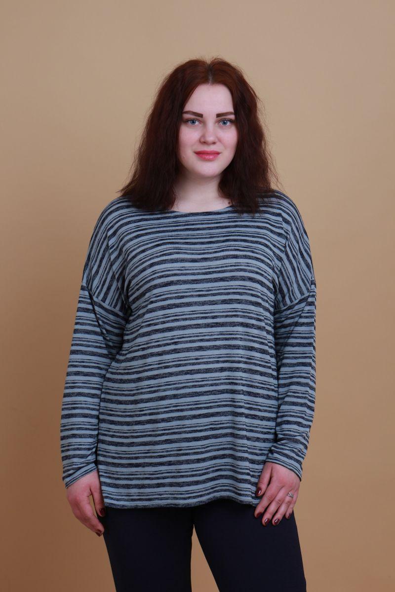 Джемпер «Жанин» большого размера 00-13375246 - Victorya-Shop.com