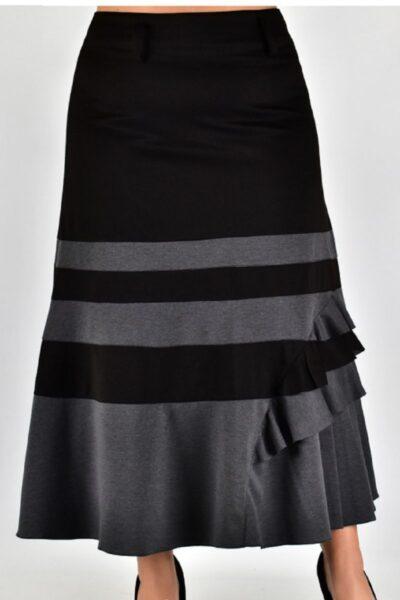 Юбка большого размера  00-133440 - Victorya-Shop.com