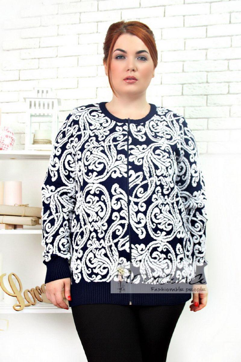 Кофта женская Гжель 00-13110 - Victorya-Shop.com
