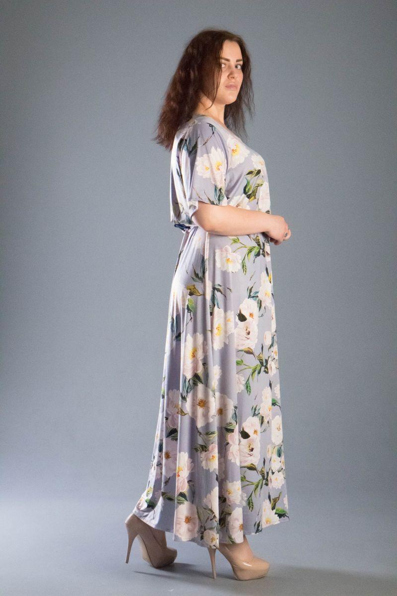 Летнее платье большого размера Южи 000-520 - Victorya-Shop.com