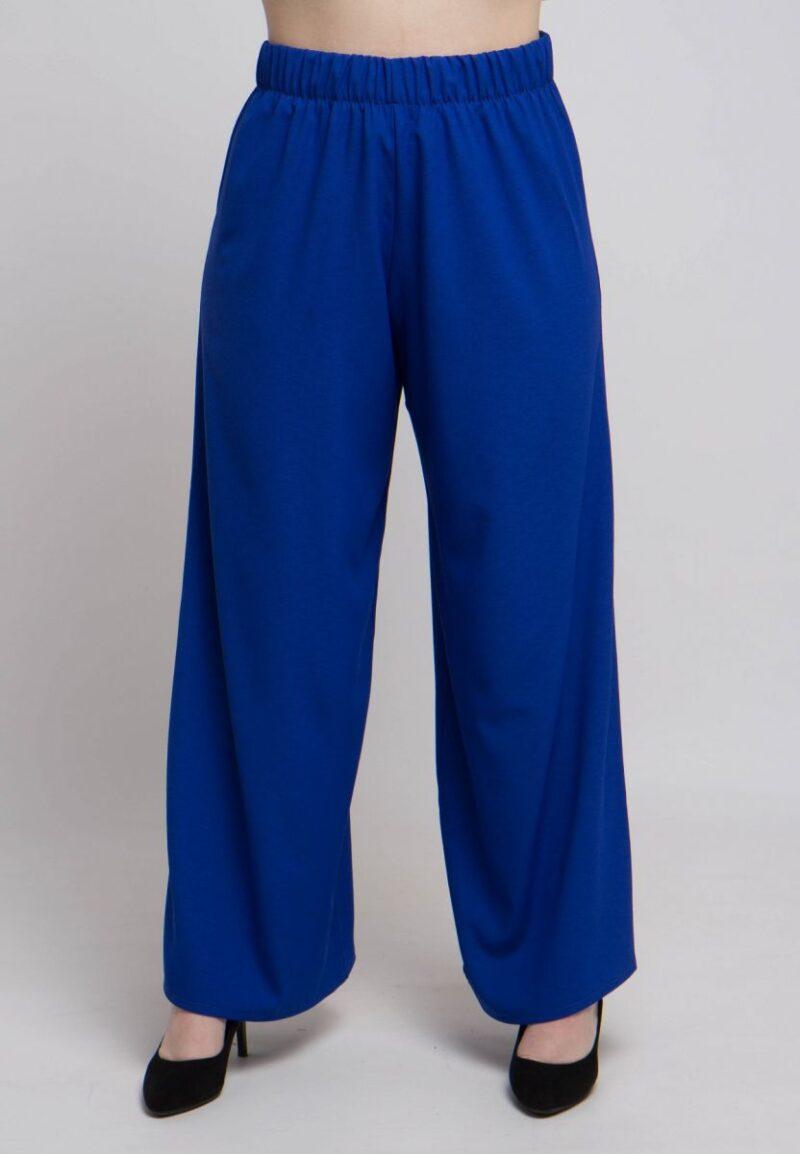 Летние широкие брюки большого размера  000-711 - Victorya-Shop.com