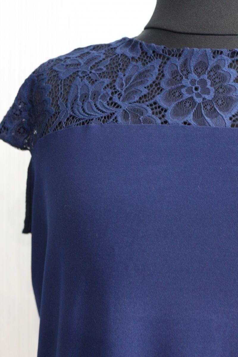 Нарядная блуза большого размера 00-13333 - Victorya-Shop.com
