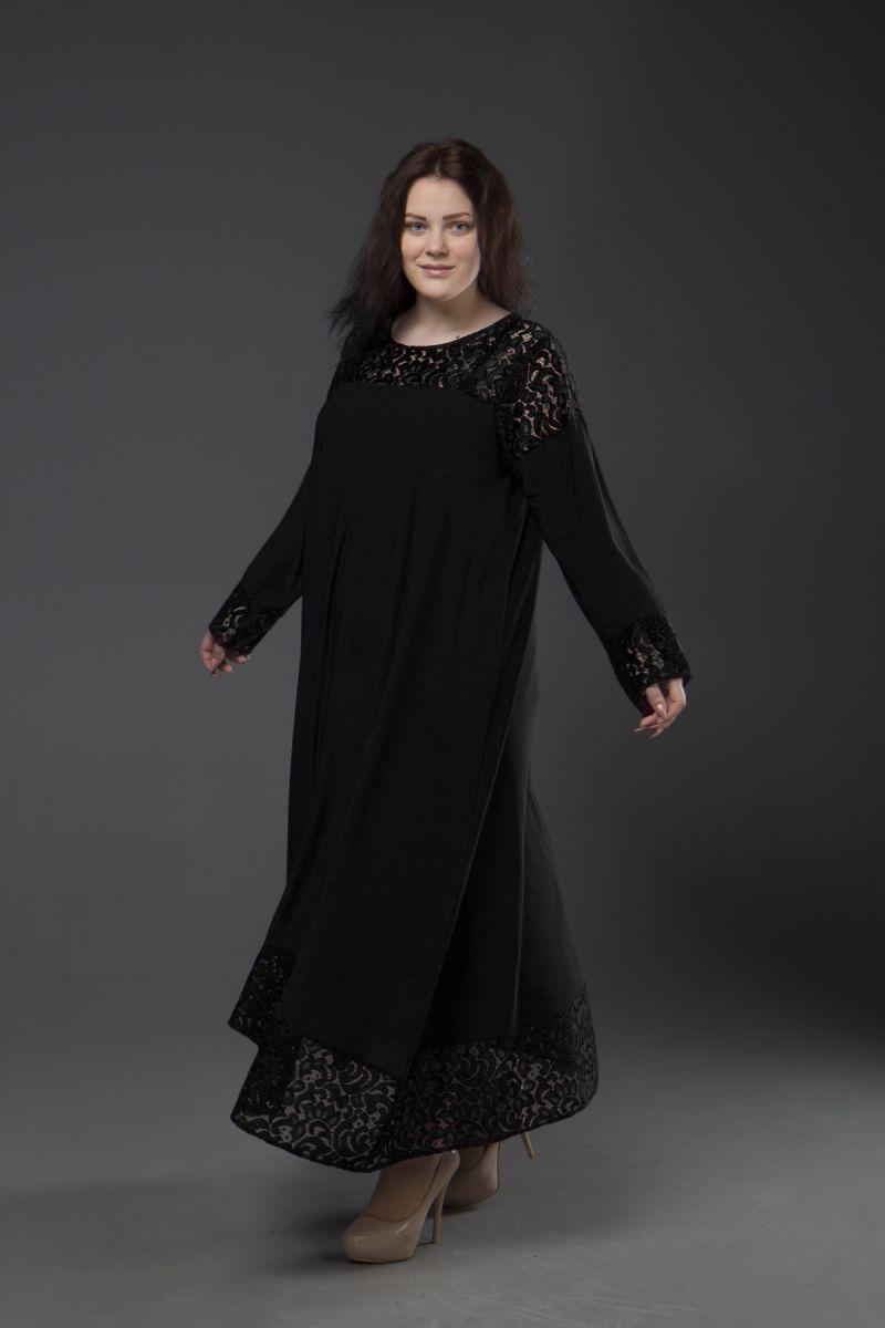 Нарядное платье для полных  Афина 000-338 - Victorya-Shop.com