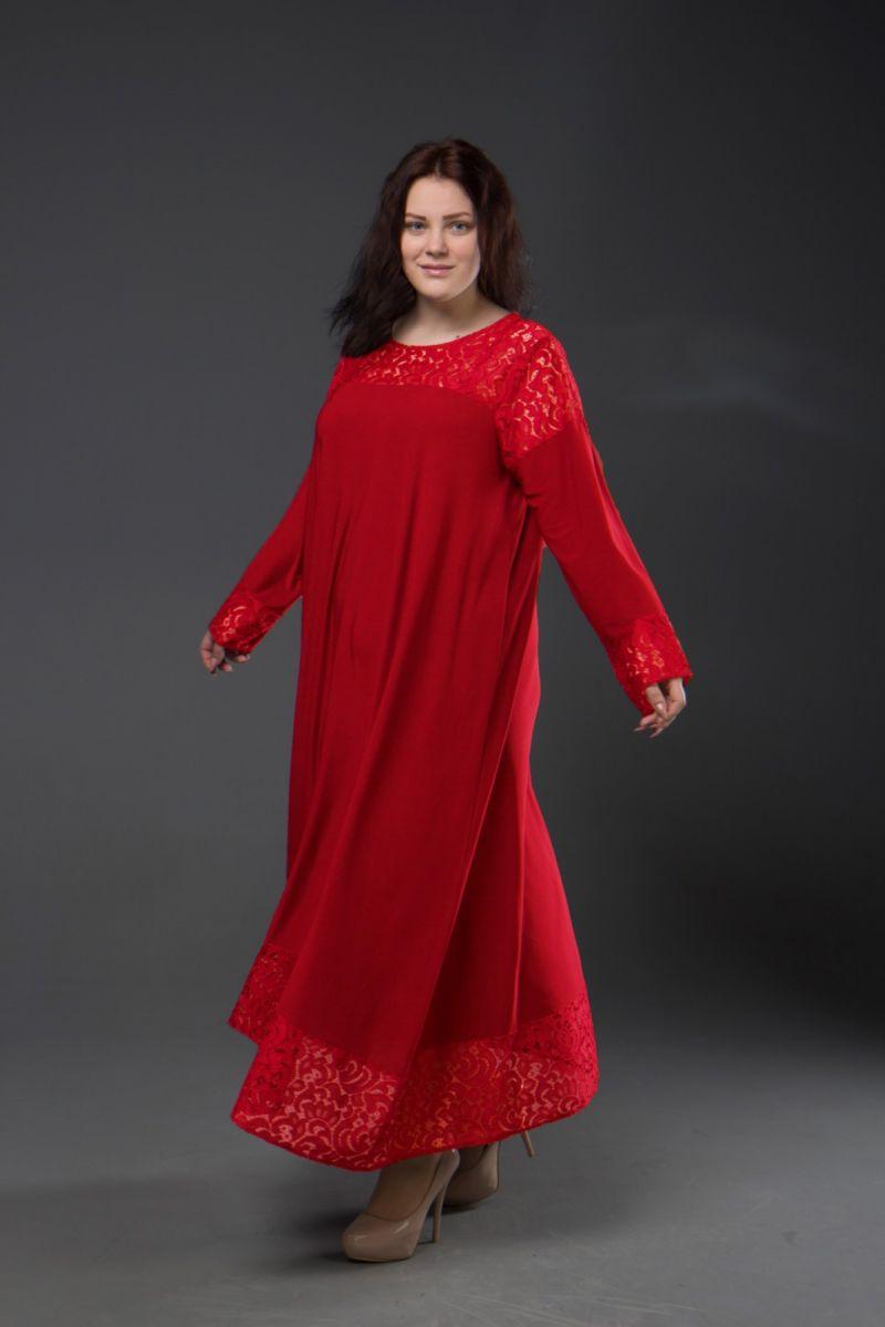 Нарядное платье для полных  Афина  000-340 - Victorya-Shop.com