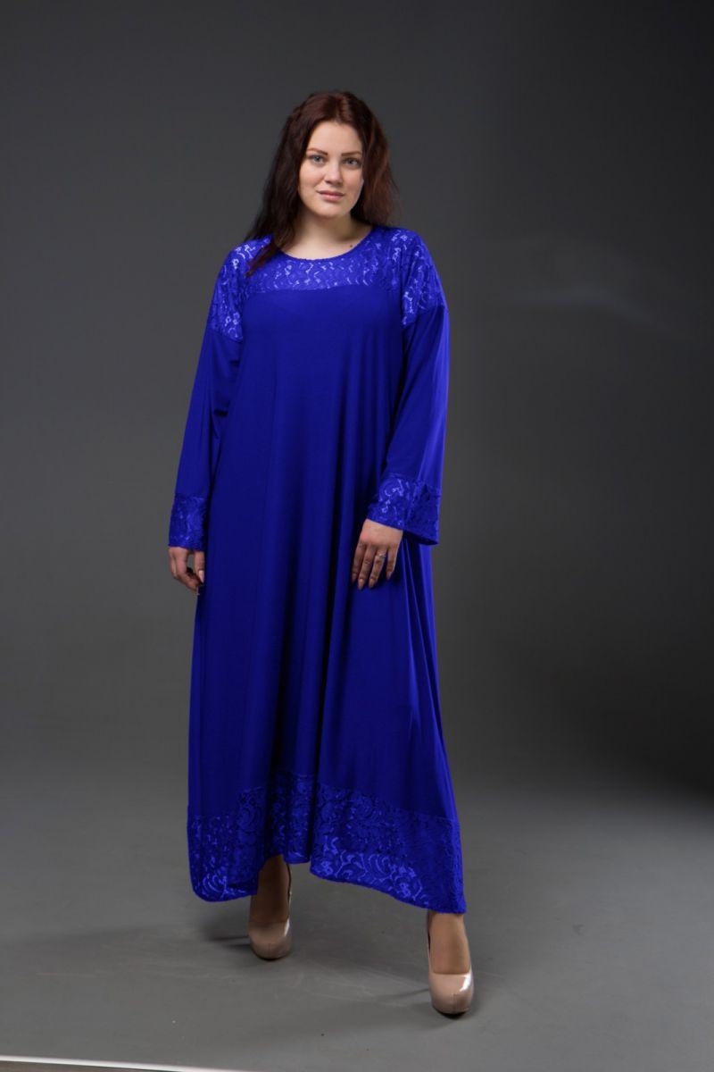 Нарядное платье для полных  Афина  000-341 - Victorya-Shop.com