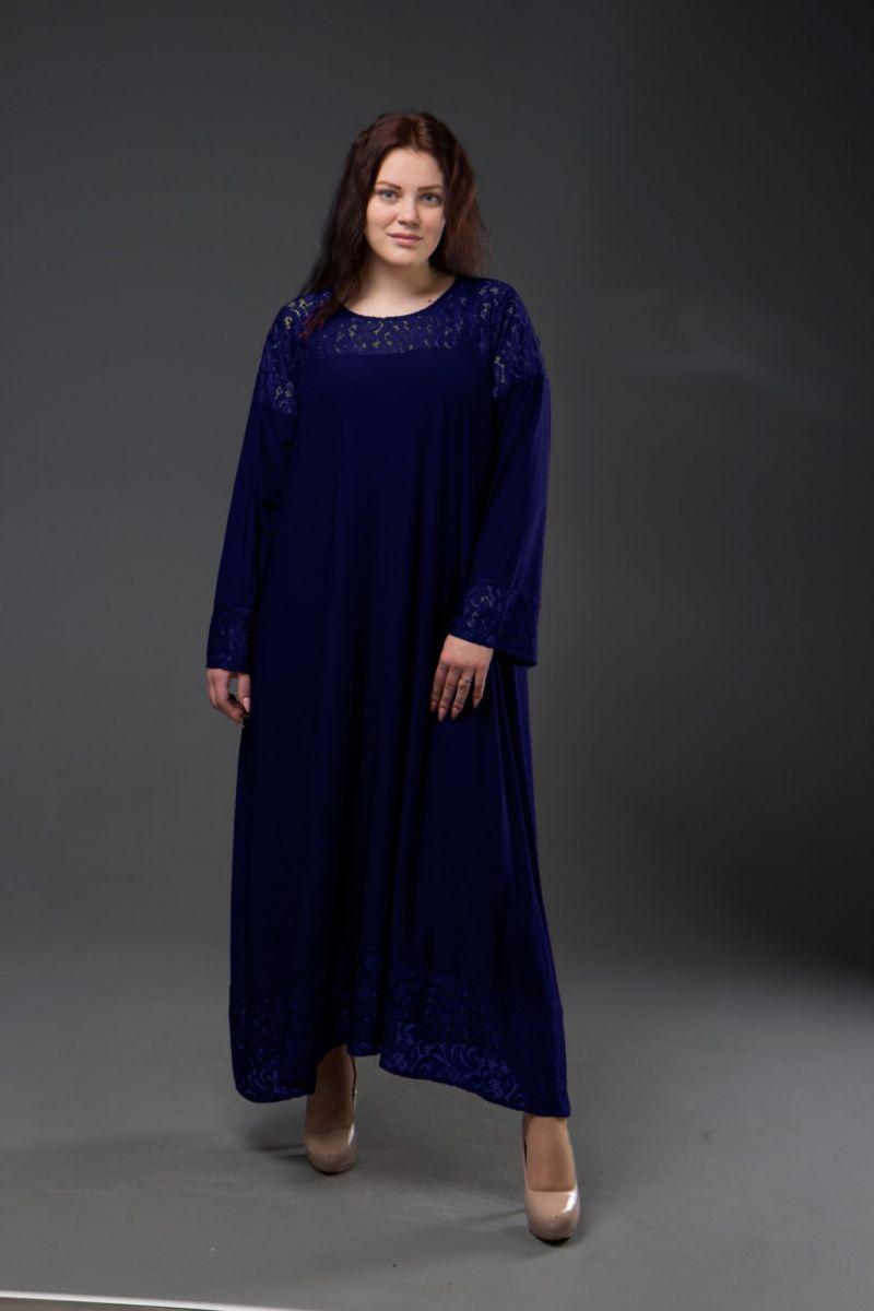 Нарядное платье для полных  Афина  000-342 - Victorya-Shop.com