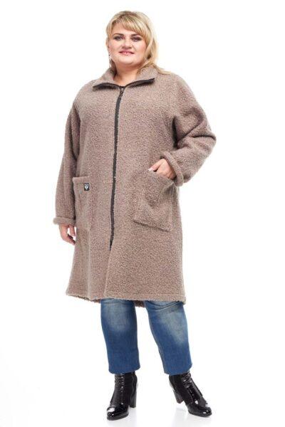 Пальто Букле 000-54 - Victorya-Shop.com