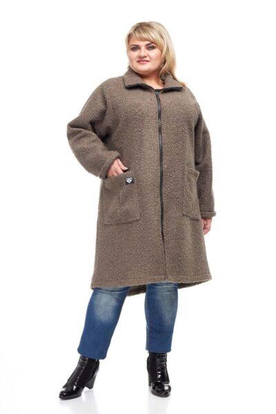 Пальто Букле   000-57 - Victorya-Shop.com