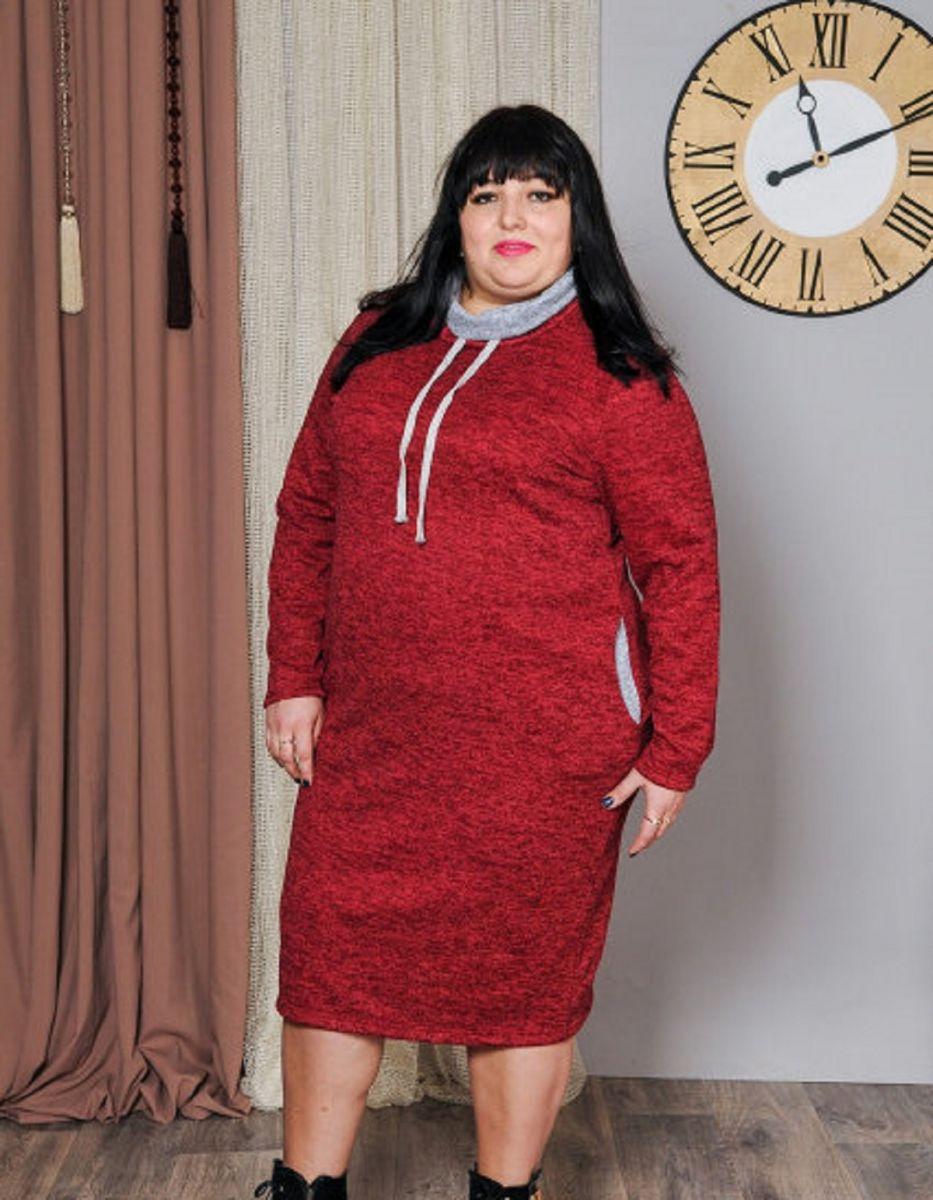 Платье ангора софт 000-59 - Victorya-Shop.com