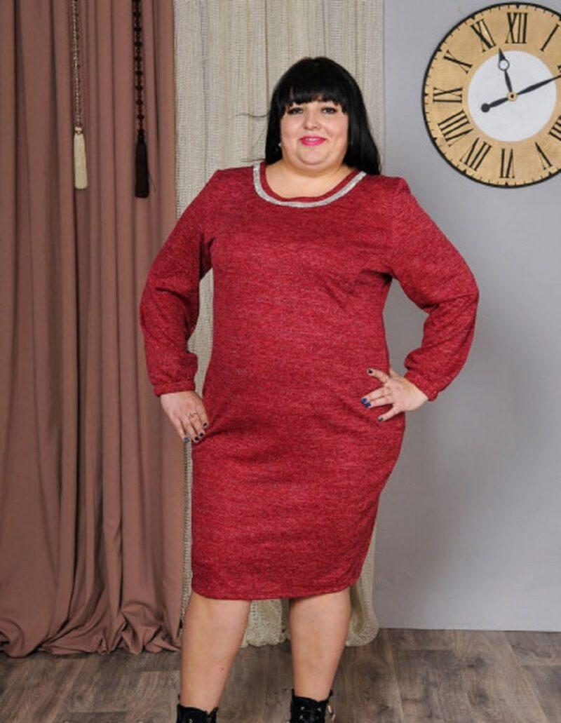 Платье ангора софт 000-60 - Victorya-Shop.com