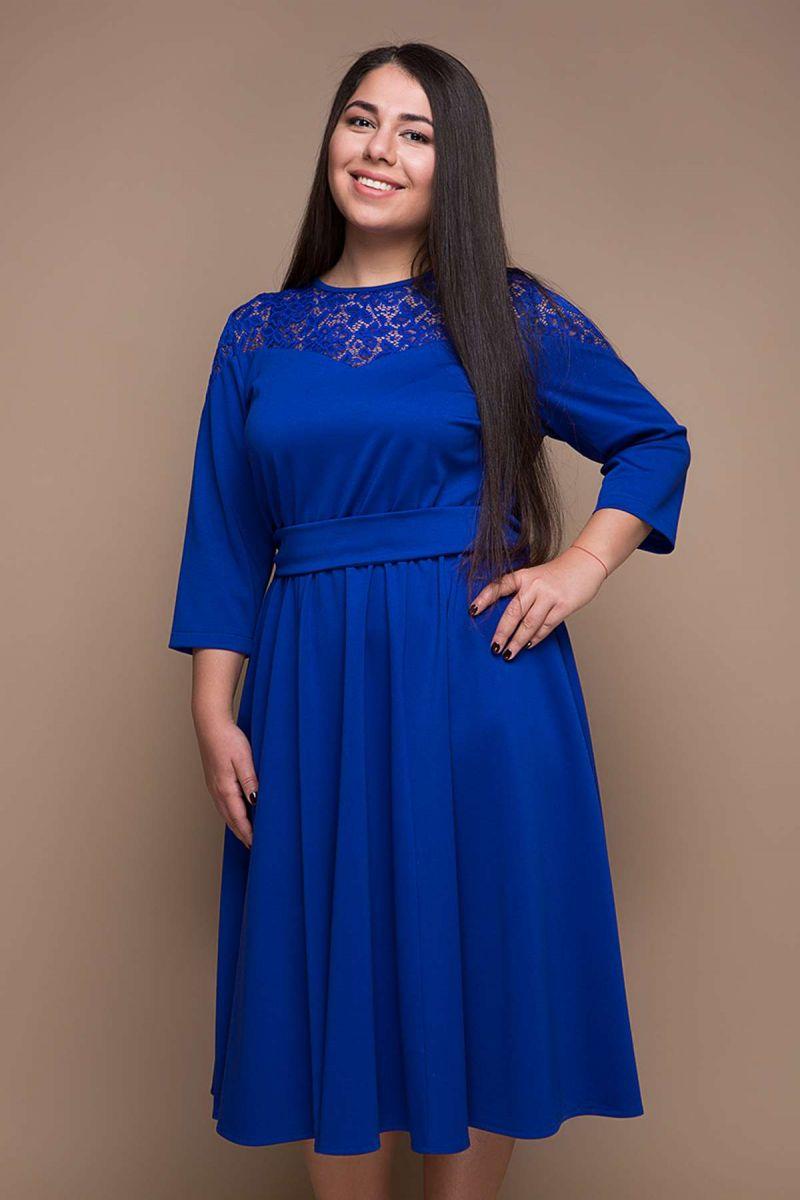 Платье большого размера  00-390 - Victorya-Shop.com