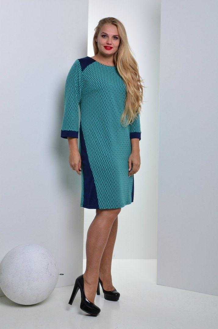 Платье большого размера 002 - Victorya-Shop.com
