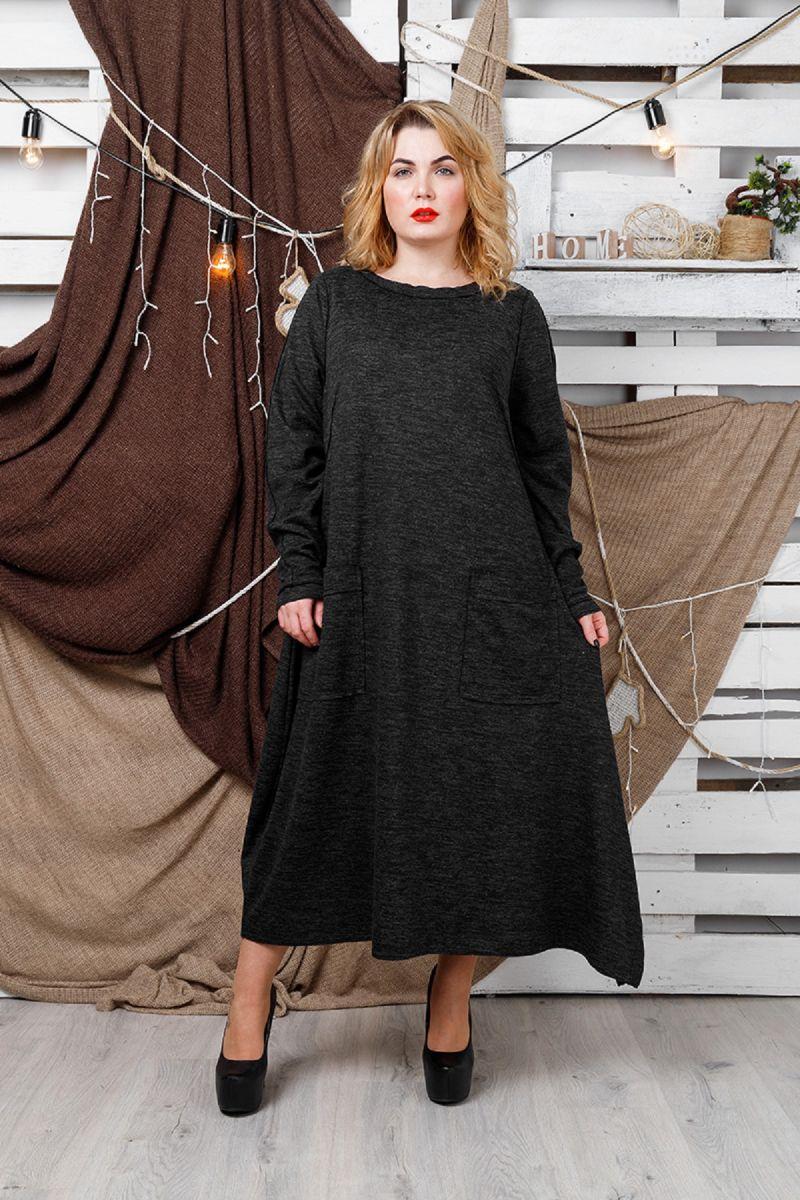 Платье Большого размера ангора-софт 00-13319 - Victorya-Shop.com