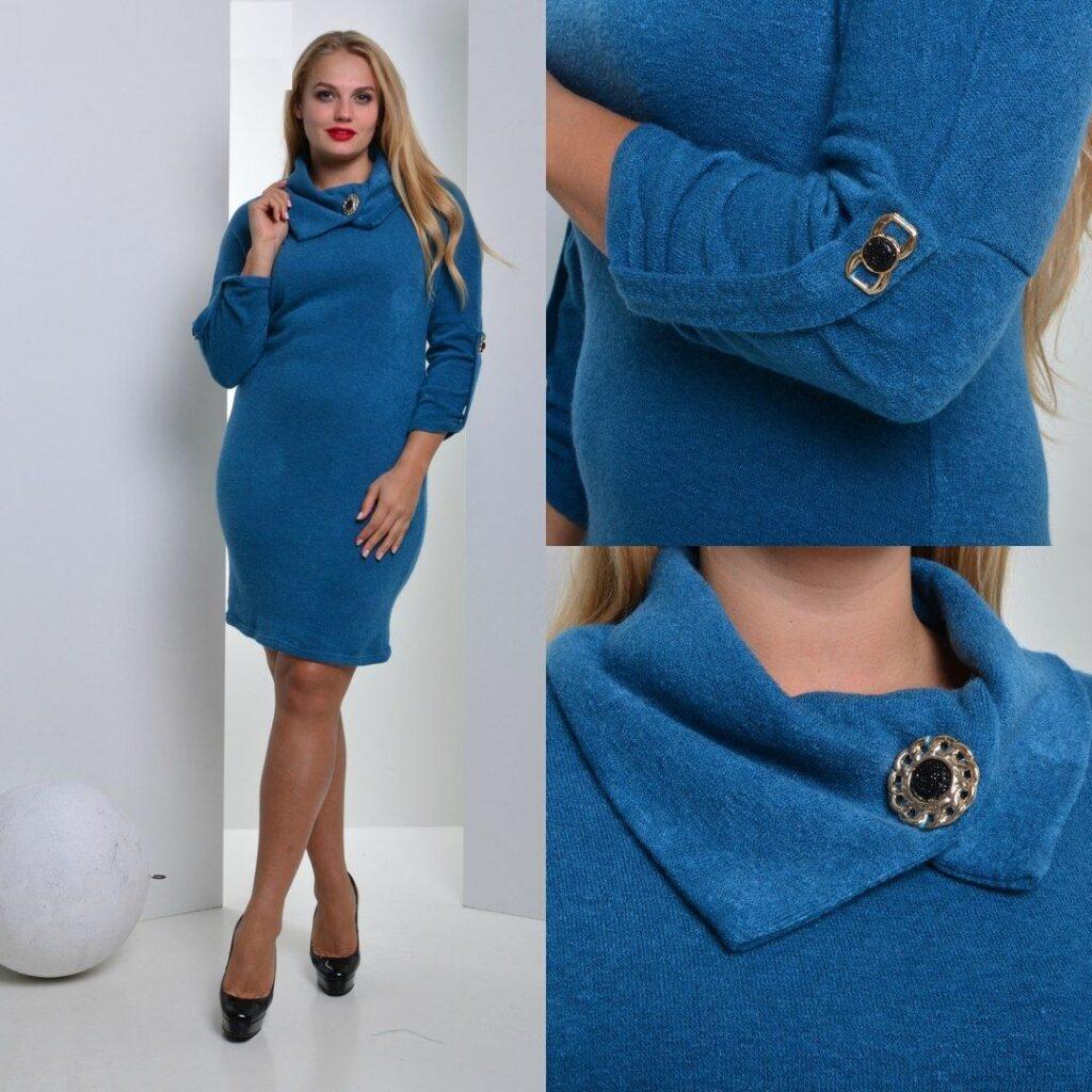 Платье большого размера Хомут2 - Victorya-Shop.com