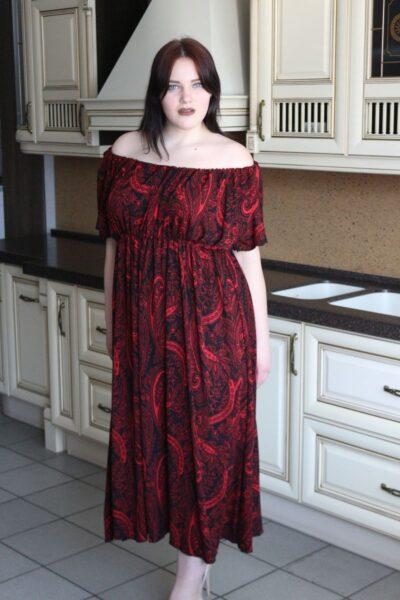 Платье большого размера Кармэн 00-133512 - Victorya-Shop.com