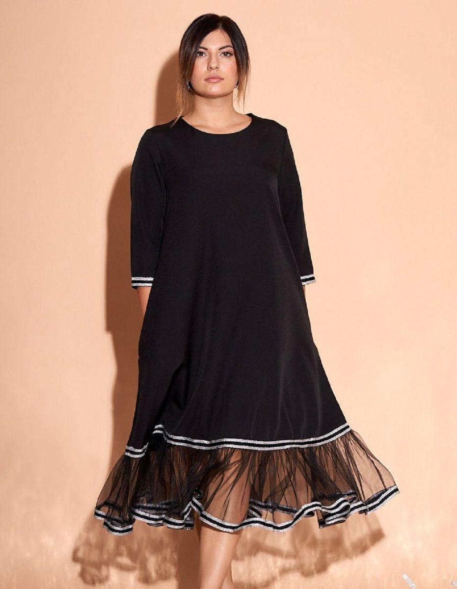 Платье большого размера Люкса 000-265 - Victorya-Shop.com