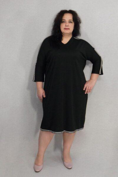 Платье большого размера Спорт 00-133480 - Victorya-Shop.com