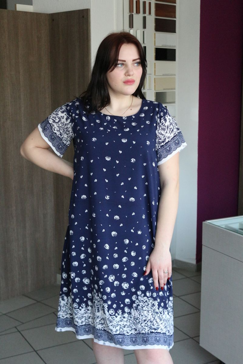 Платье большого размера Тамила 00-911 - Victorya-Shop.com