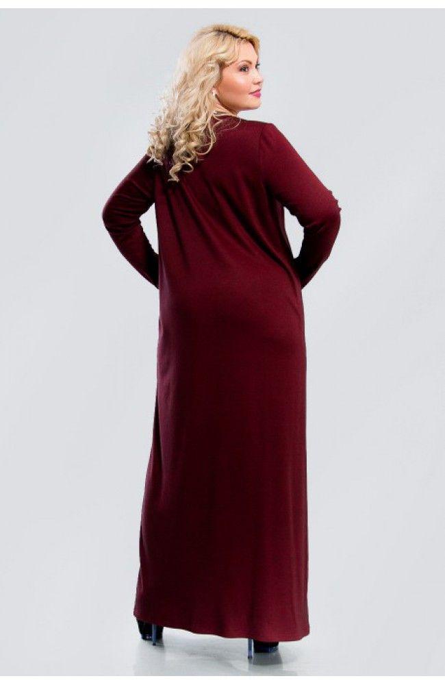 Платье большого размера Верона  00-13305 - Victorya-Shop.com