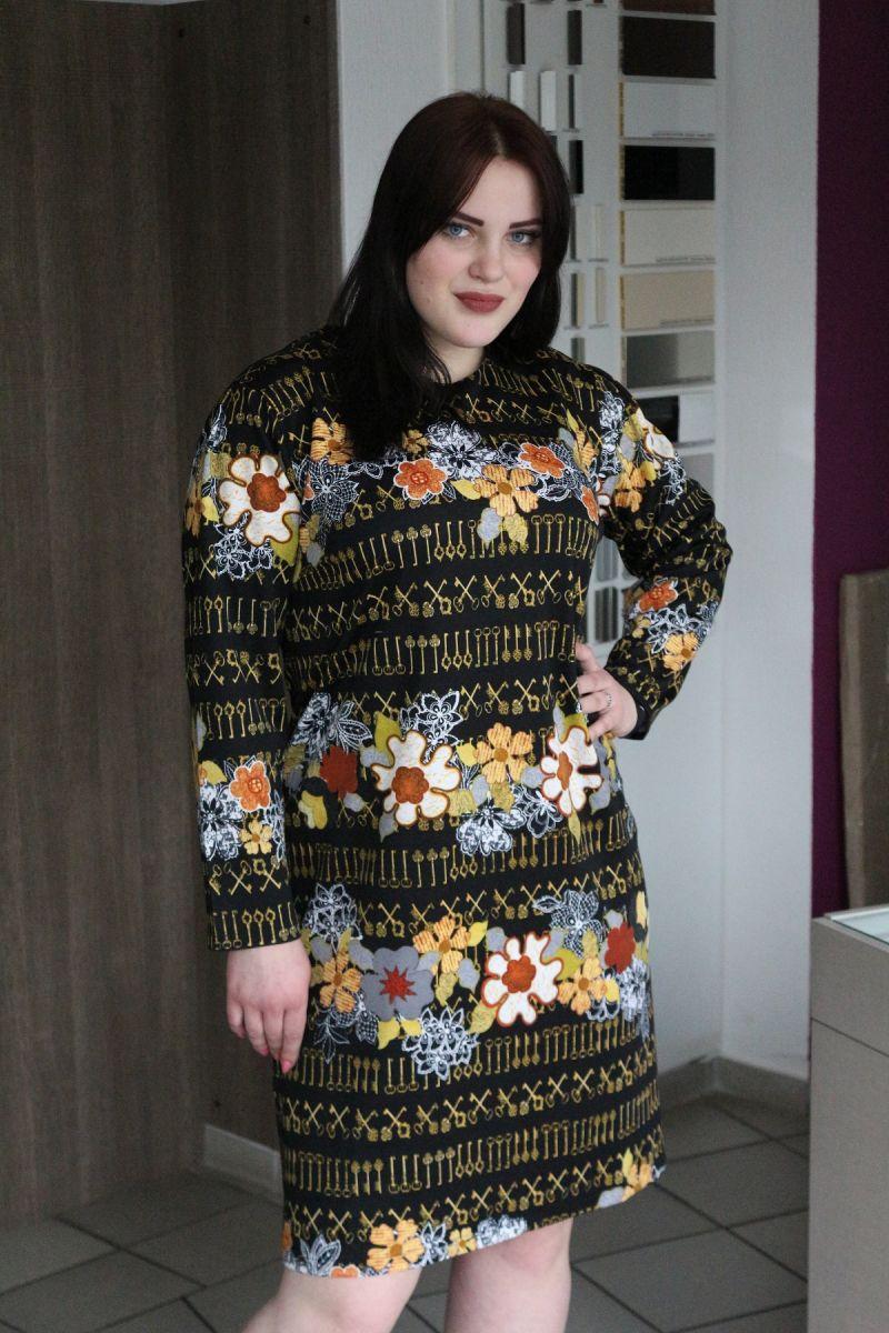 Платье ключики по мотивам Dolce & Gabbana в ограниченном количестве 00-288 - Victorya-Shop.com
