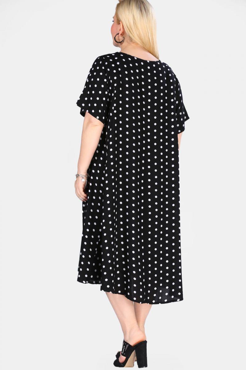 Платье летнее большого размера 00-133605 - Victorya-Shop.com