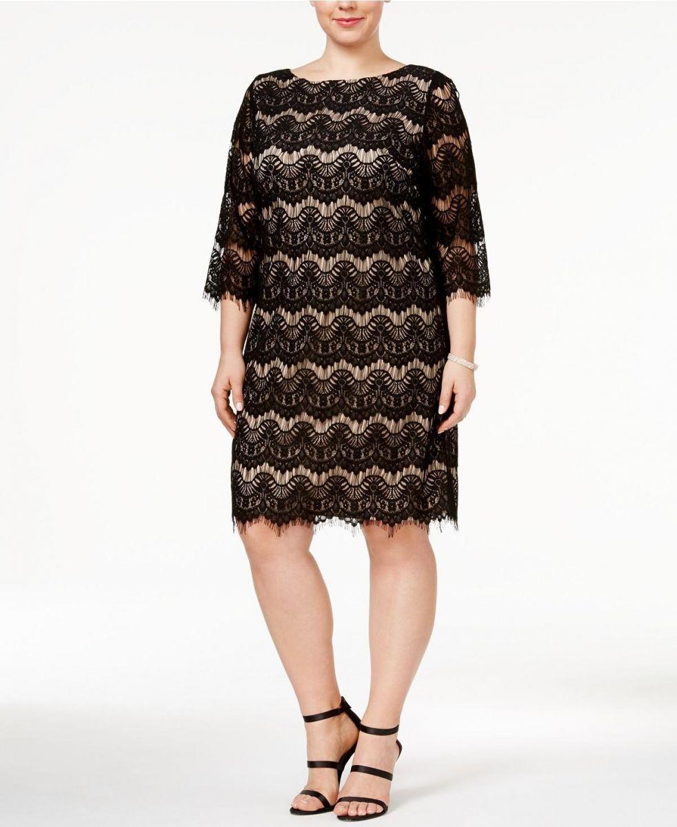 Платье Милан большого размера  00-806 - Victorya-Shop.com
