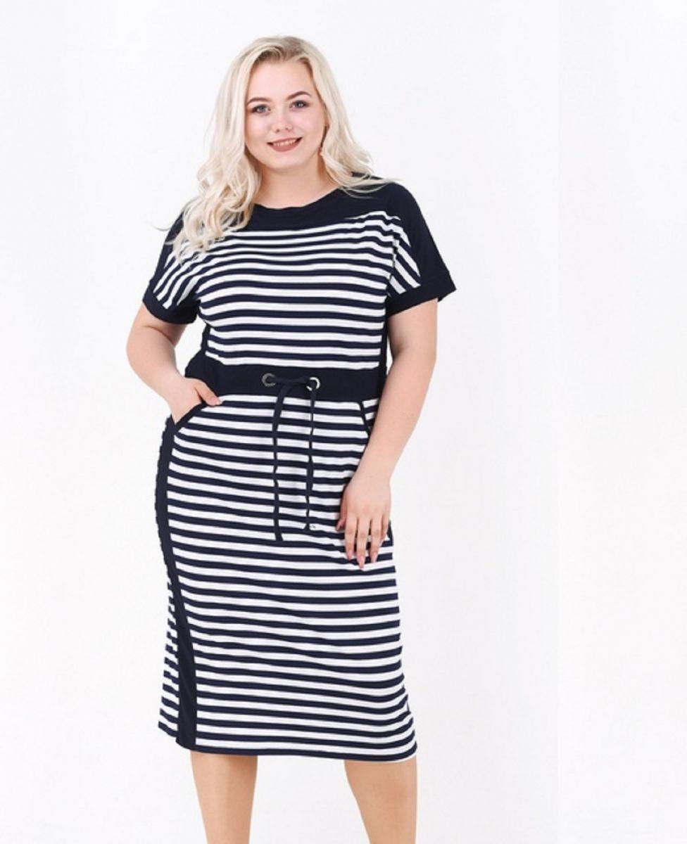 Платье мотроска большого размера 00-133614 - Victorya-Shop.com
