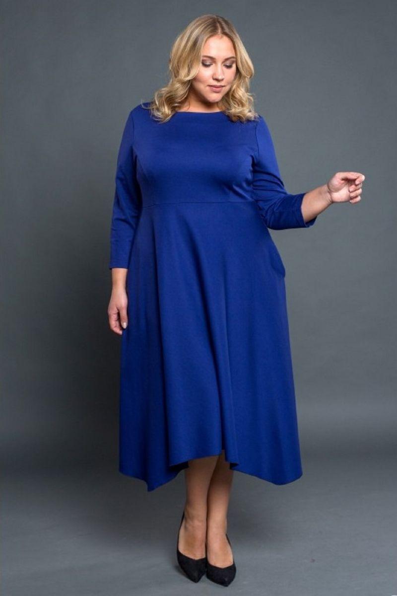 Платье Софи электрик 00-791 - Victorya-Shop.com