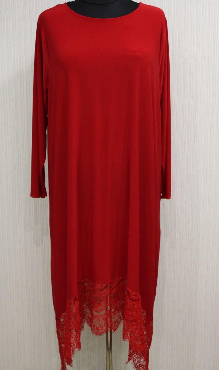 Платье Софи красный 00-1002 - Victorya-Shop.com