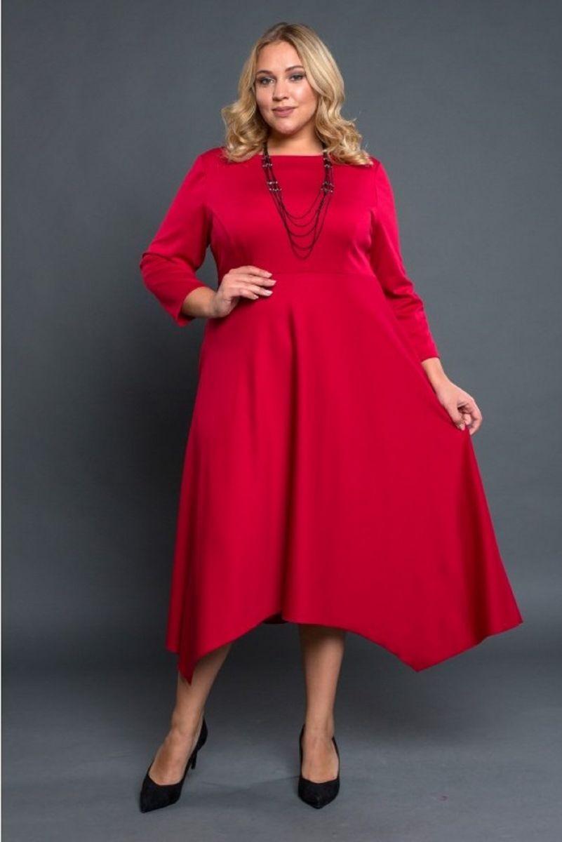 Платье Софи красный 00-791 - Victorya-Shop.com