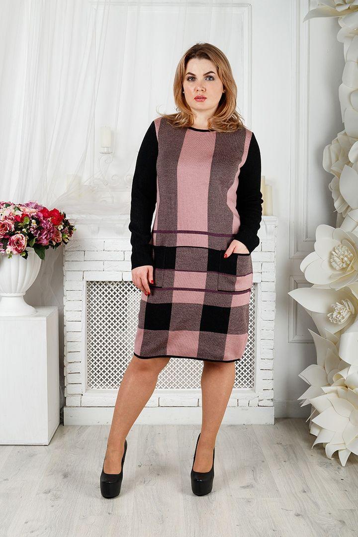 Платье Стрела большого размера 00-133398 - Victorya-Shop.com
