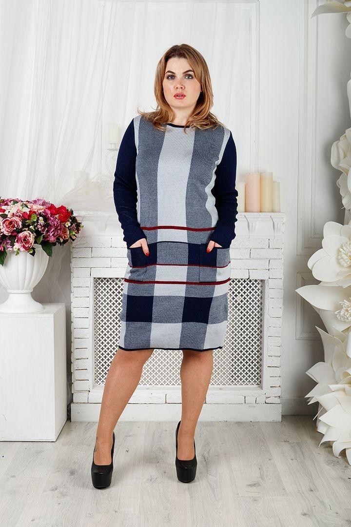 Платье Стрела большого размера 00-133399 - Victorya-Shop.com