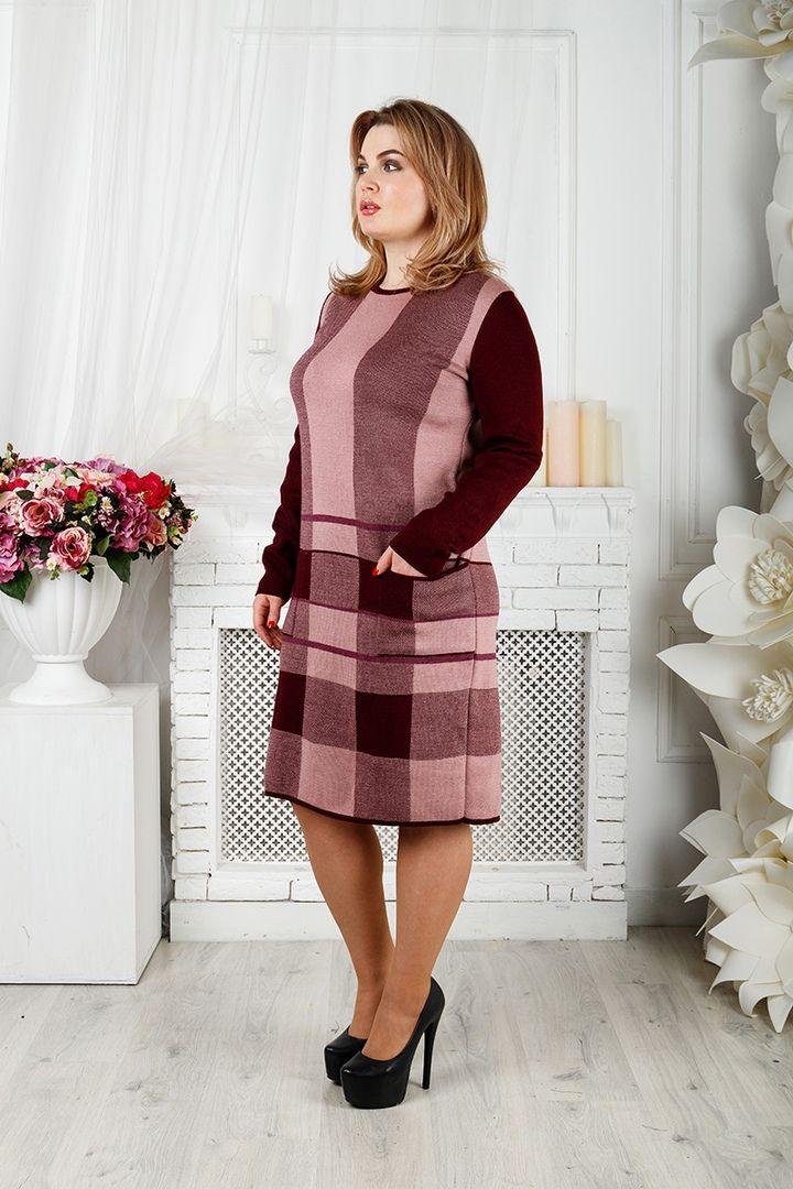 Платье Стрела большого размера 00-133400 - Victorya-Shop.com