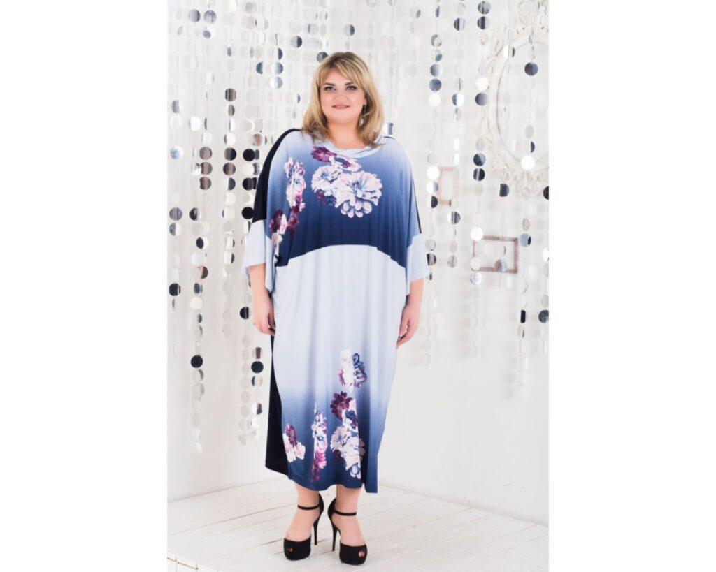 Платье свободный крой 00-133466 - Victorya-Shop.com