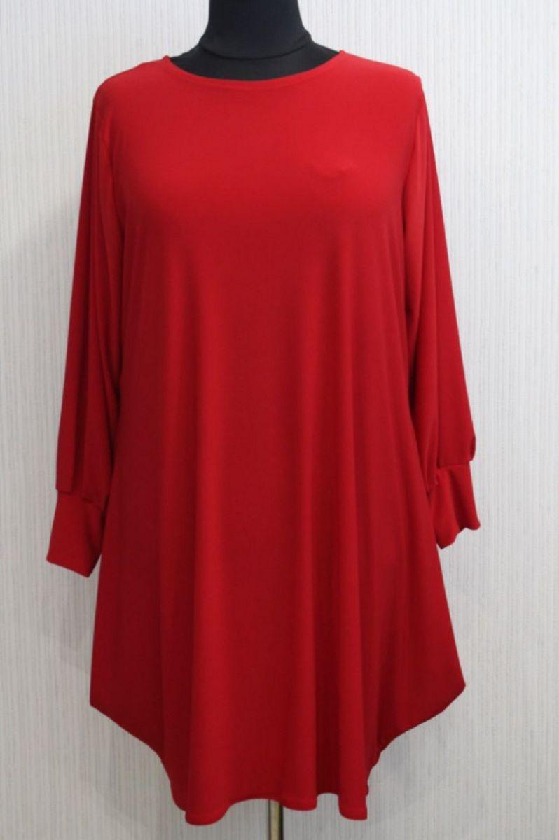 Платье-туника тюльпан Магнолия 00-989 - Victorya-Shop.com
