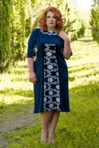 РАСПРОДАЖА 012659 Грация синий - Victorya-Shop.com