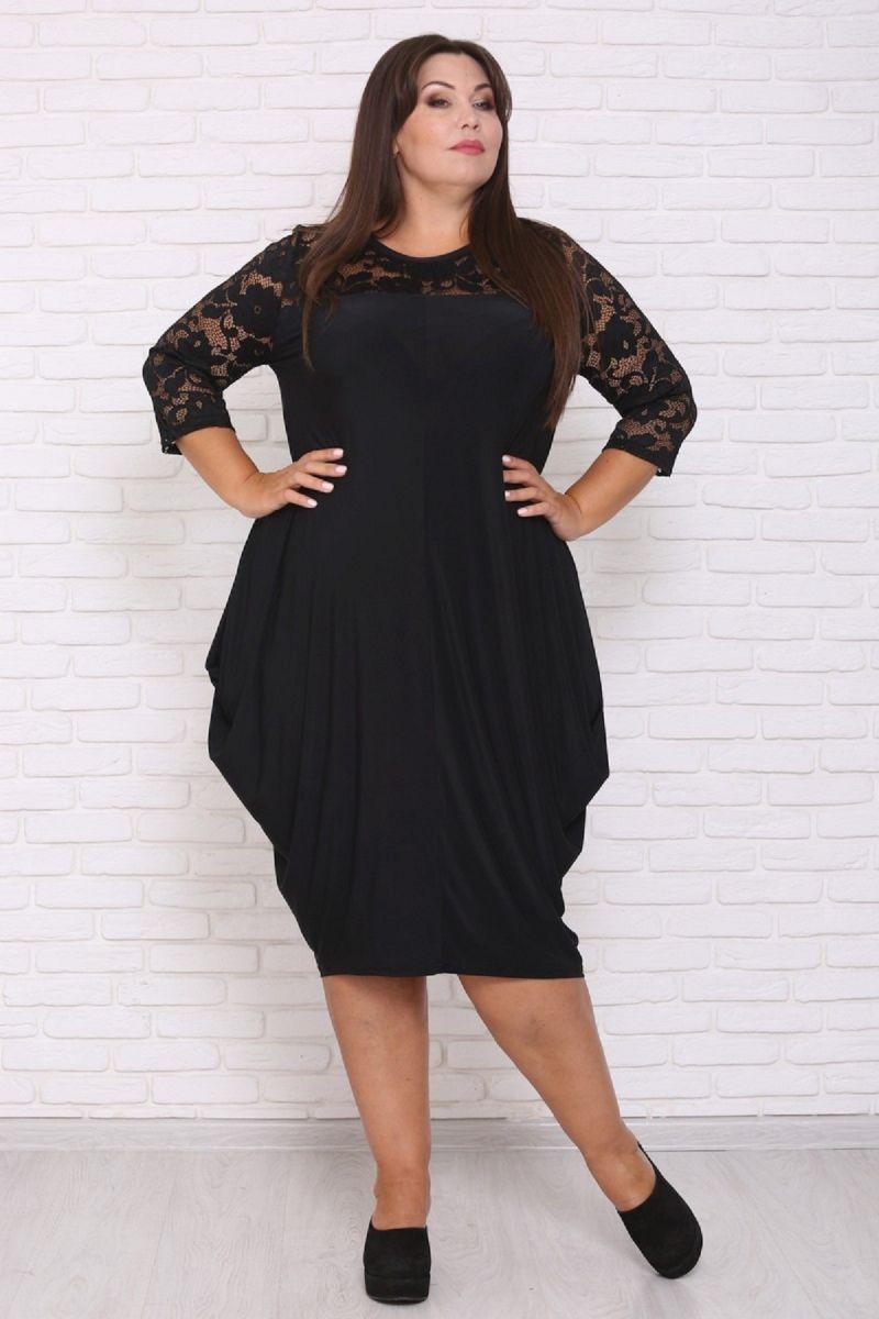 Шикарное платье большого размера Гранд 00-133641 - Victorya-Shop.com